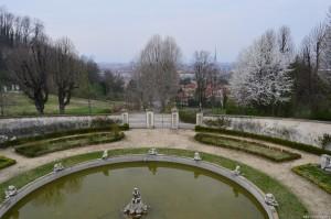 Villa della Regina, Torino, panoramica dal giardino-terrazzo