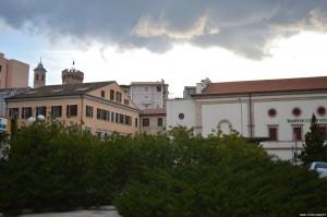 San Benedetto del Tronto, veduta sul borgo antico dalla piazza della Cattedrale
