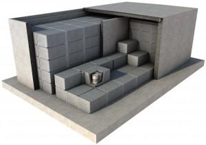 Il progetto della terza barriera del deposito nazionale: la cella