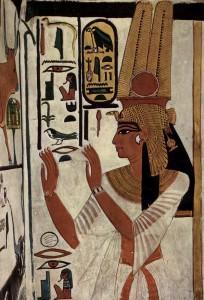 Ritratto di Nefertari dalla sua tomba, Egitto