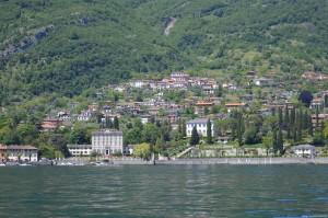 Lago di Como, Tremezzo, villa La Quiete e villa La Carlia