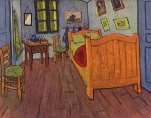 Vincent Van Gogh, La camera di Vincent ad Arles, Museo Van Gogh Amsterdam