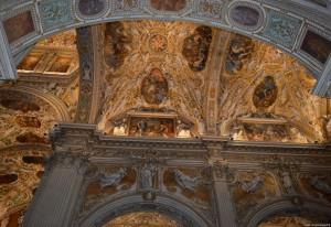 Bergamo Alta, Basilica di Santa Maria Maggiore, interno barocco