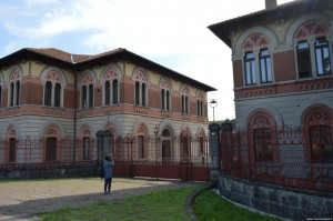 Villaggio Crespi, la fabbrica