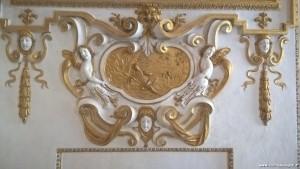 Sassuolo, Palazzo Ducale, decorazioni interne, stucchi