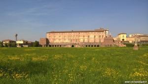 Sassuolo, Palazzo Ducale, veduta dal parco