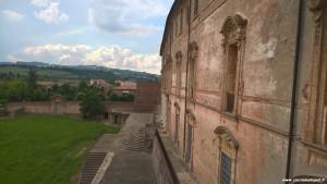 Sassuolo, Palazzo Ducale, ala verso il parco