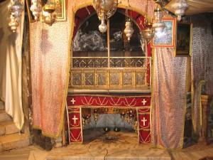 Betlemme, Basilica della Natività, interno
