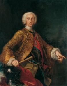 Carlo III in un ritratto di Giuseppe Bonito