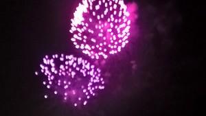 Notte Rosa, fuochi d'artificio