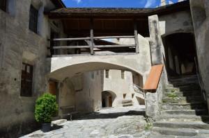 Castello di Castelbello, cortile interno