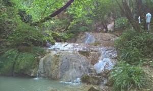 Cascate Bucamante, una delle cascate