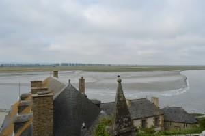 Bassa marea a Mont Saint Michel