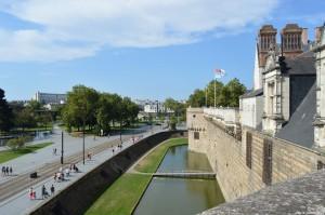 Nantes, mura del Castello