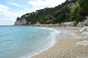 Riviera del Conero, spiaggia Urbani