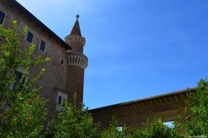 Urbino, veduta dal giardino pensile della duchessa