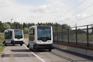 Veicoli senza conducente, progetto CityMobil2