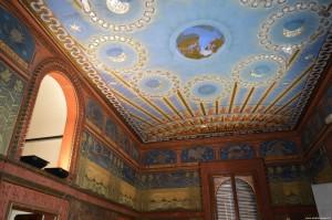 Bentivoglio, Palazzo Rosso, piano nobile, Sala dello Zodiaco