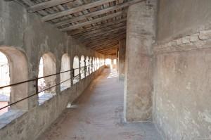 Il Castello di Vignola, camminamento di ronda