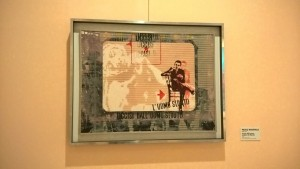 Pop Art italiana in mostra a Villa Magnani, Paolo Baratella, Uccisi dall'uomo seduto