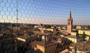 Vignola, veduta sulla città dal suo Castello