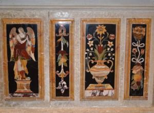 Casone sul Sile, decorazione altare Chiesa
