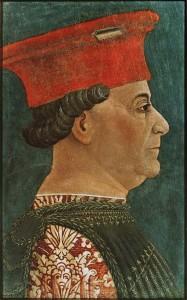 Francesco Sforza, ritratto da Bonifacio Bembo, Pinacoteca di Brera, Milano