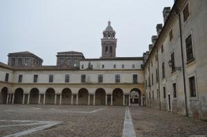 Mantova, cortile interno del complesso ducale