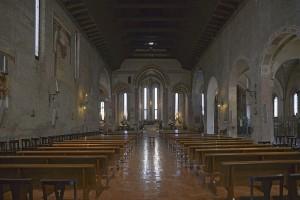 Treviso, Chiesa dei francescani, interno