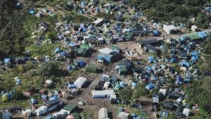 Il campo di Calais, Francia