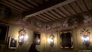 Fontanellato, Rocca Sanvitale, sala affrescata