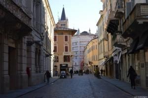Parma, verso Piazza Duomo