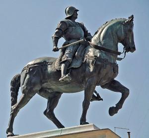 Venezia, statua equestre dedicata a Bartolomeo Colleoni
