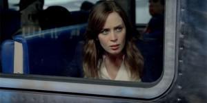 La ragazza del treno, Emily Blunt in una scena del film