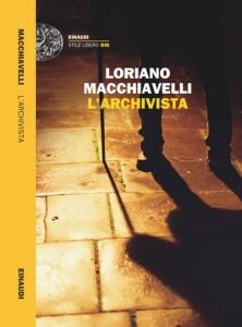 L'archivista, copertina del romanzo pubblicato da Einaudi, 2016