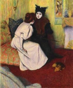 La conversation, 1895, Federico Zandomeneghi