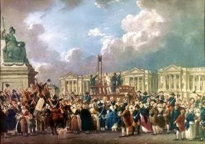 Place de la Revolution, patibolo