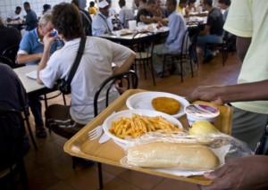 una mensa per i poveri in Italia