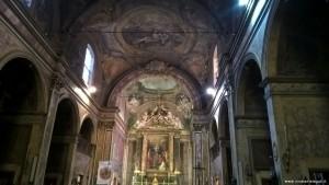 Bologna, Chiesa dei Celestini, interno