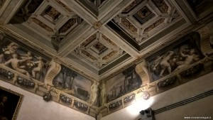 Bologna, Palazzo Poggi. affreschi