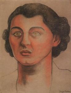 Cristina Kahlo, sorella di Frida, dipinta da Diego Rivera