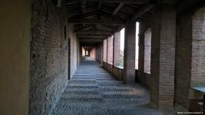 Imola, Rocca Sforzesca, camminamento di ronda