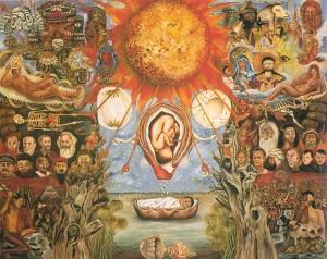 Mosé (1945) di Frida Kahlo