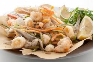 Frittura di pesce, ristorante Frontemare Rimini