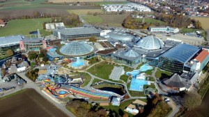 Therme Erding, Germania, il complesso termale