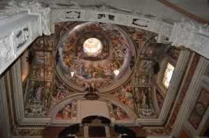 Piacenza, Chiesa San Francesco, interno