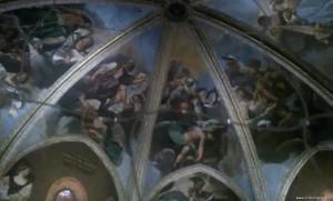 Piacenza, affreschi del Guercino nella cupola del Duomo