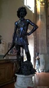 David del Verrocchio, Museo del Bargello, Firenze