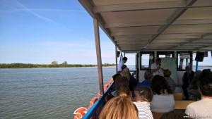Parco del Delta del Po, navigazione sul ramo principale, Po di Venezia