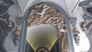 Firenze, Palazzo Medici Riccardi, cortile interno, particolare decorativo